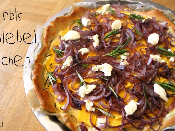 Kürbiswoche Teil II - Kürbis-Zwiebel-Kuchen