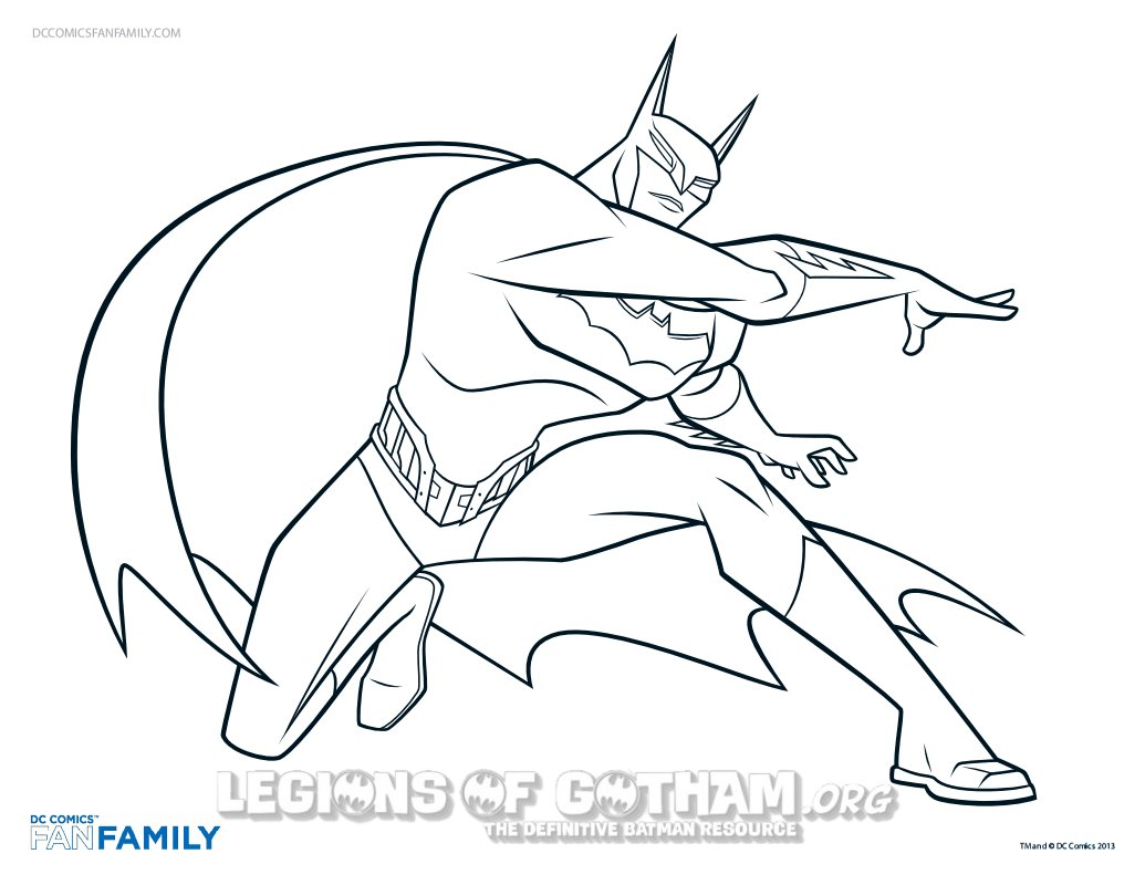 Batman News From Legions Of Gotham Beware The Coloring Pages