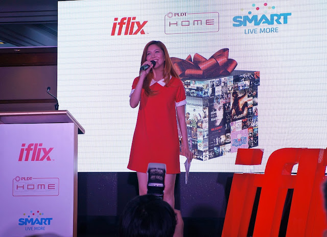 Gift of Entertainment from IFLIX, PLDT and SMART event photos