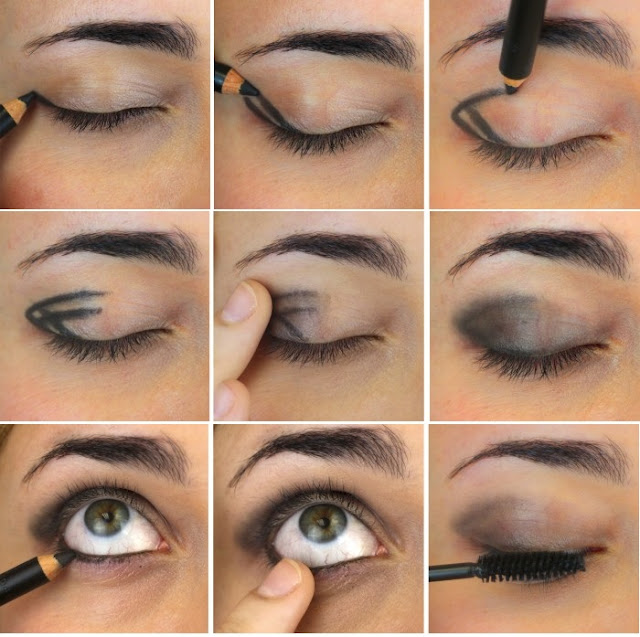 Как самой сделать вечерний макияж фото