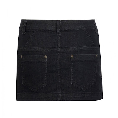 Jeans Mini Skirt Ganni