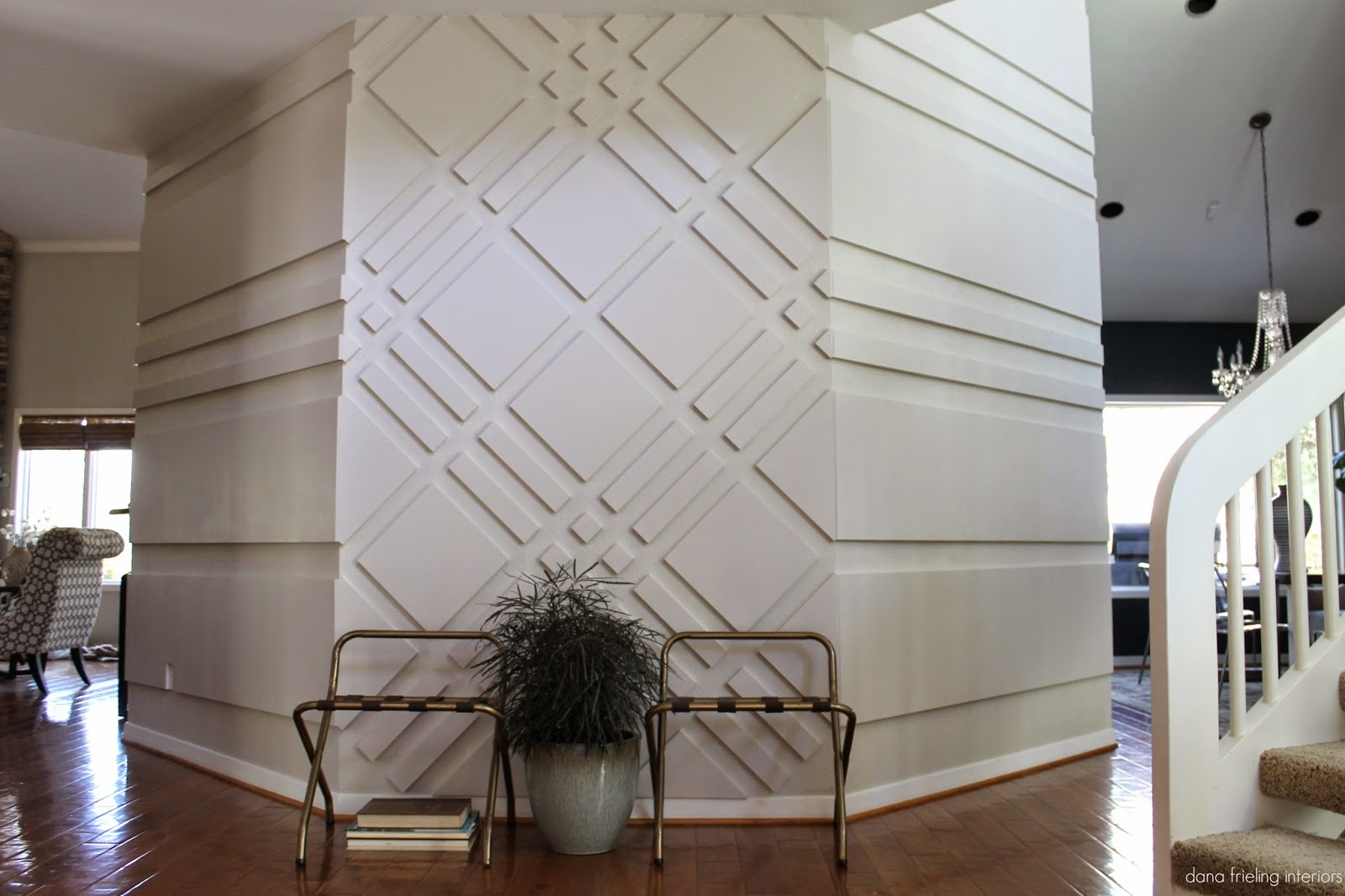 Make Them Wonder: Graphic Wall Treatment Before/After for 3d Wall Graphic Design  53kxo