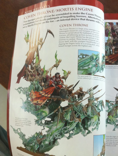 Warhammer Coven Throne miniature picture photo