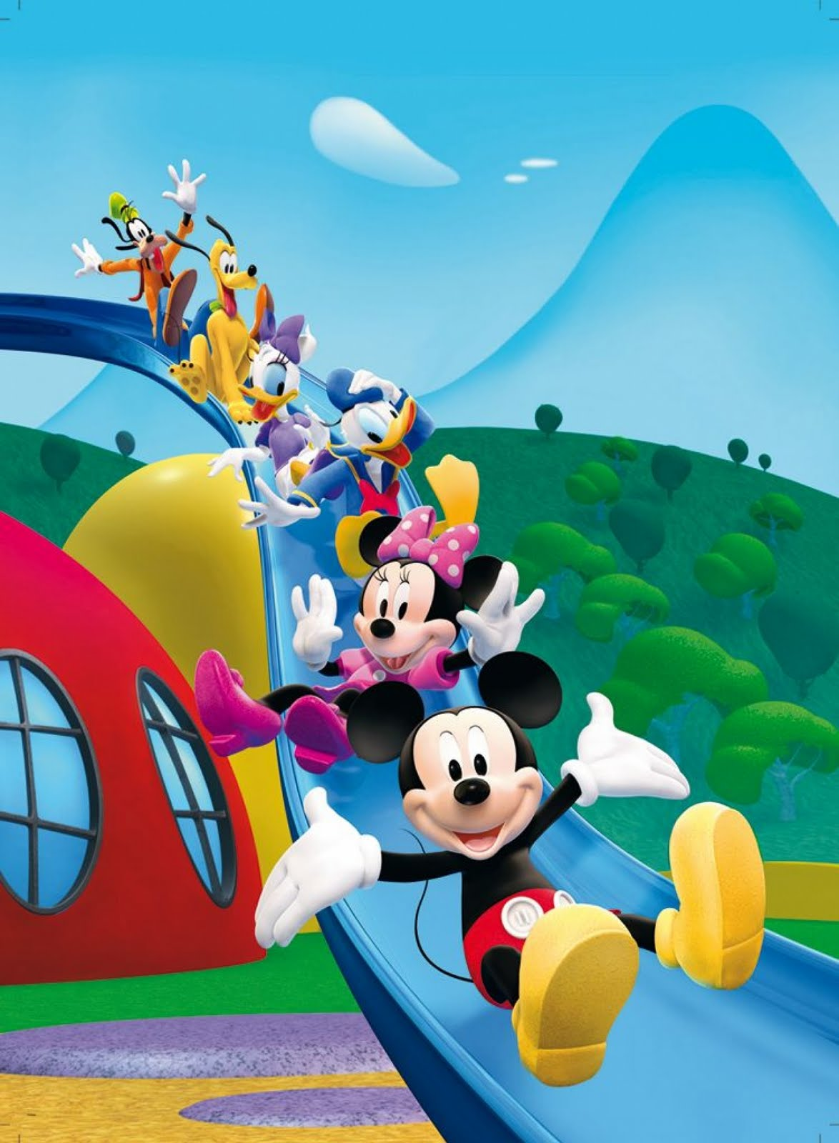 Mickey Mouse Clubhouse Invites as perfect invitations layout