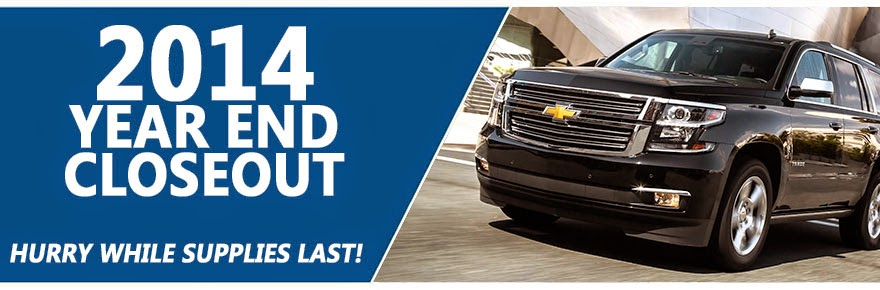 Emich Chevrolet Year End Closeout