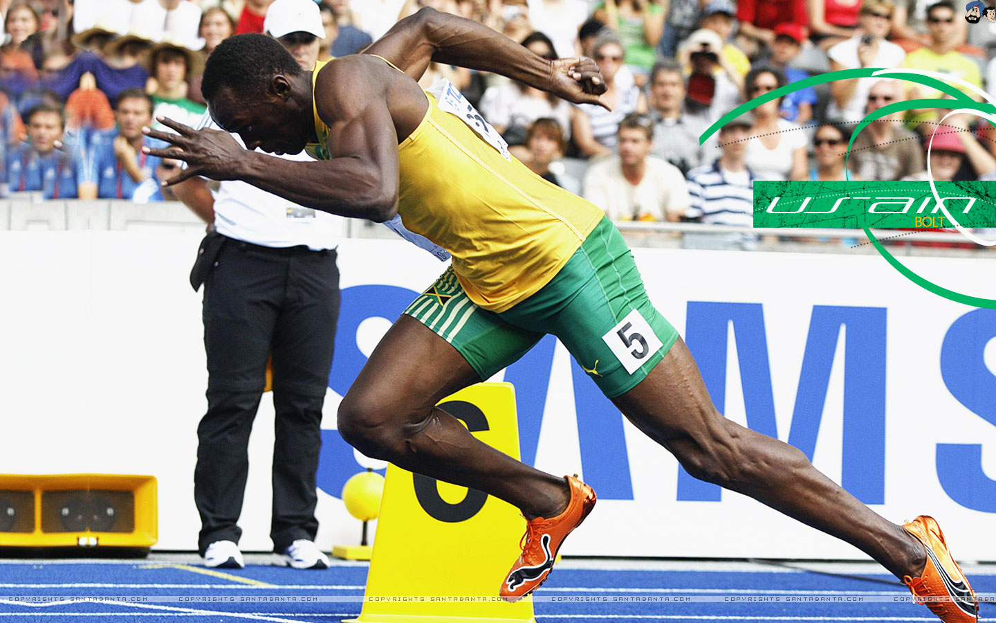 All about sports stars - Usain bolt running hd photos ...