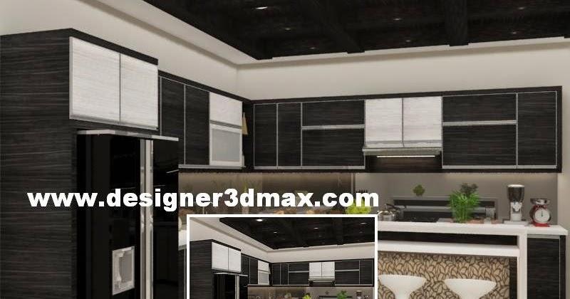 Jasa desain gambar murah desain dapur dengan kompor tanam for Kitchen set kompor tanam