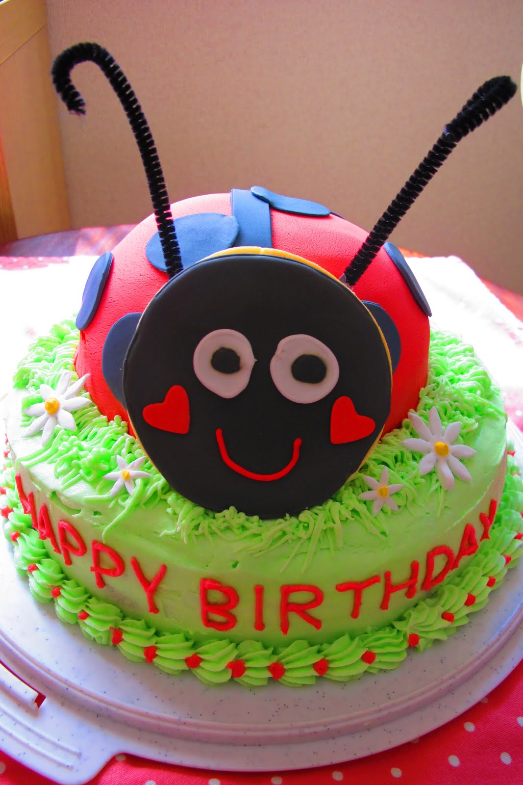 Birthday Cake Images Hq : Tortelicious: Ladybug Birthday Party