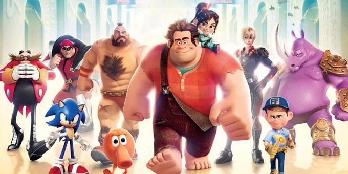 Wreck it Ralph - top 10 hollywood movies 2012