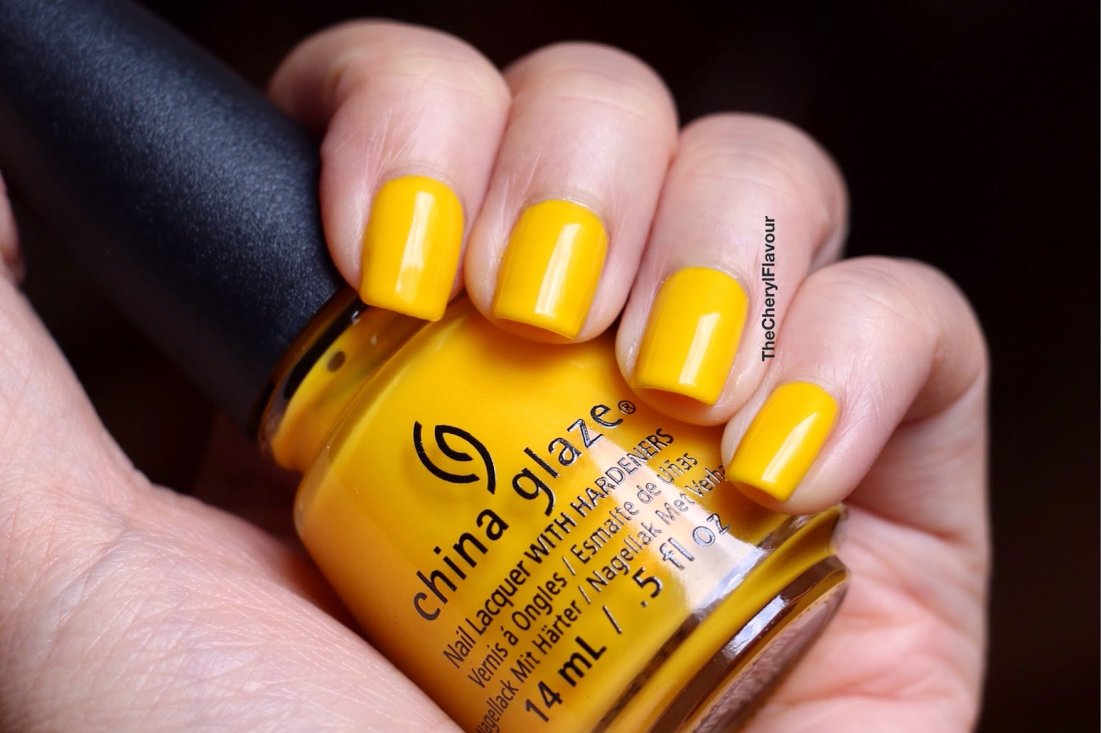 China Glaze Sun's Up Top Down