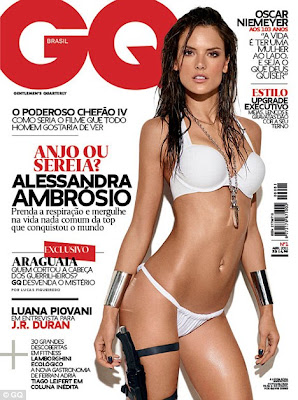 alessandra ambrosio sexy en gq de brasil 2011