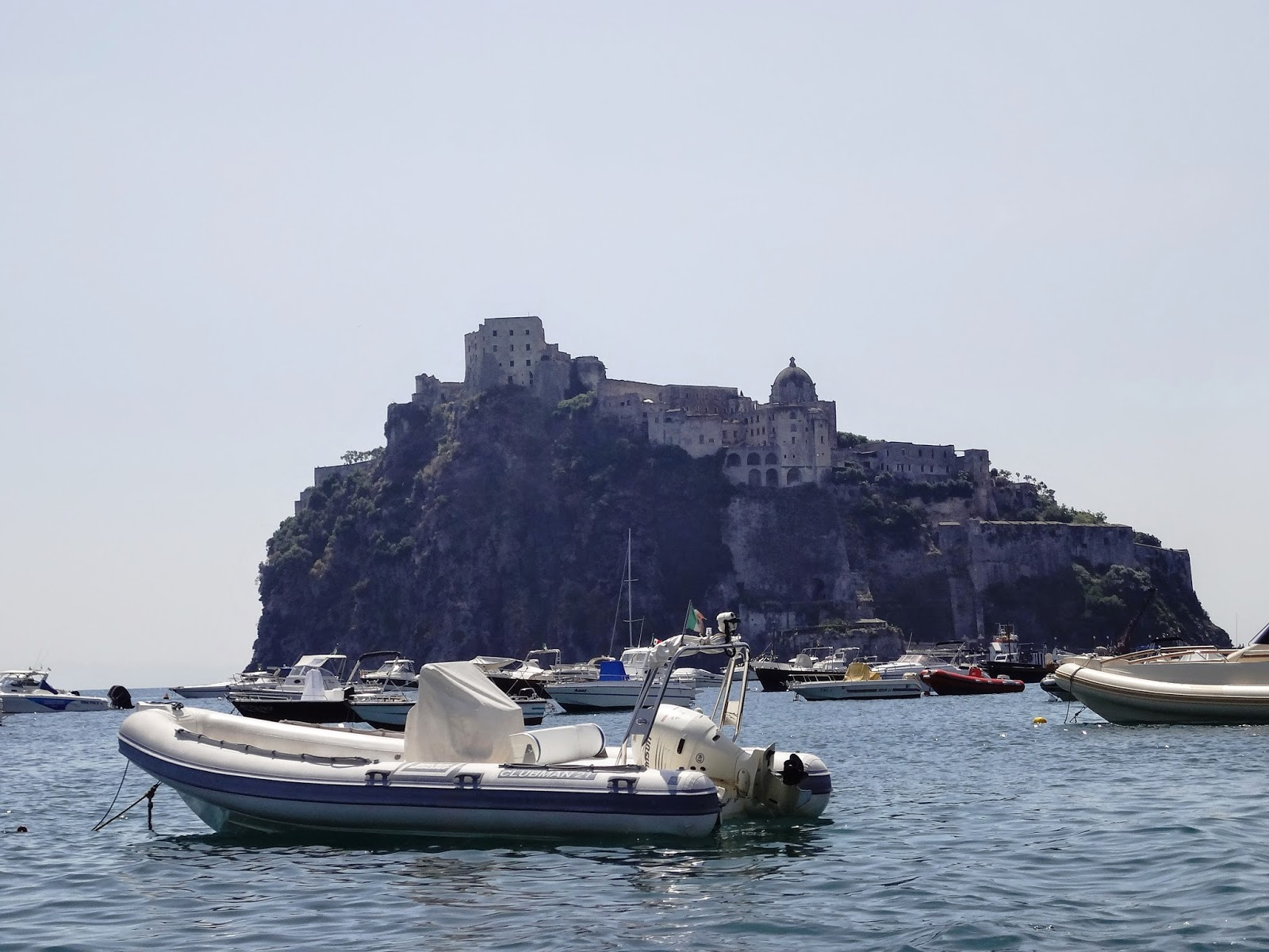 Castle Aragonese on Ischia