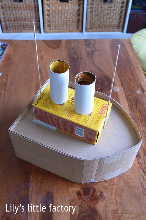 un bateau urne fa on pi ata diy lily 39 s little factory blog diy bretagne. Black Bedroom Furniture Sets. Home Design Ideas