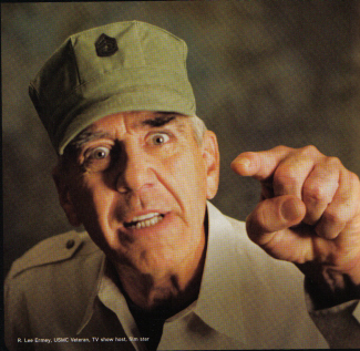 R Lee Ermey Yelling 180 Miles by Bike: Pel...