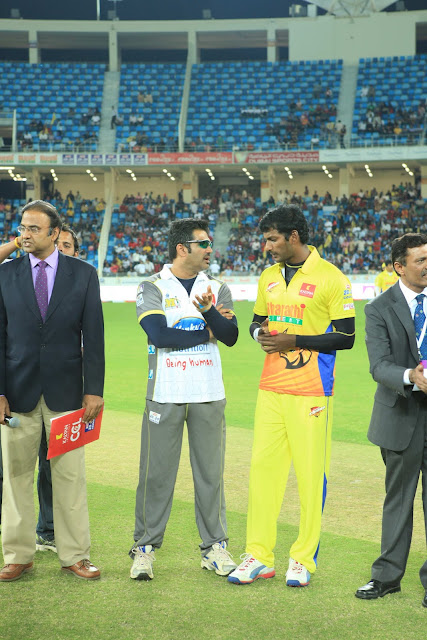 Celebs At ccl matches