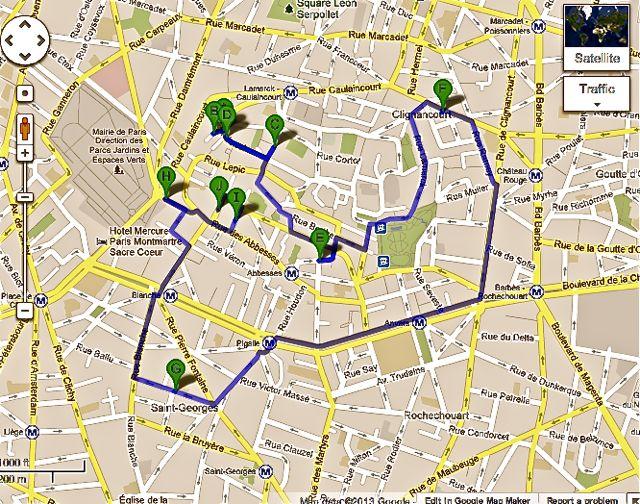 Petite Paris a Walking Tour of Montmartre Paris