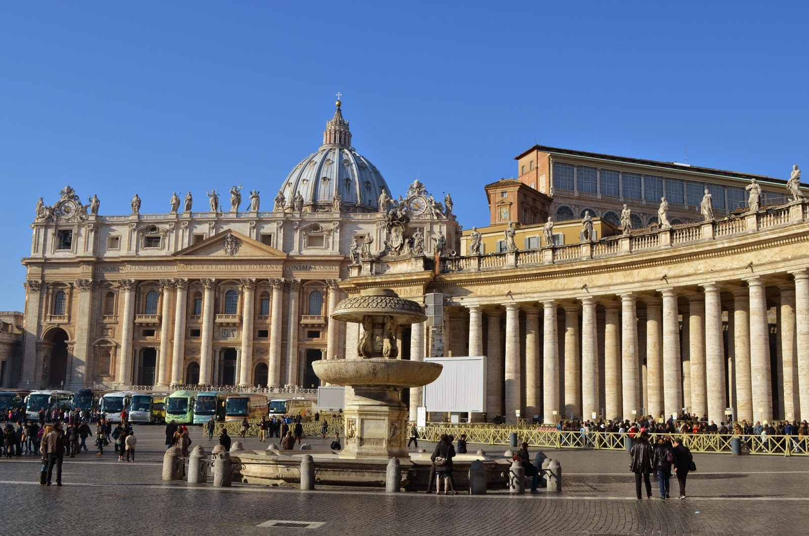ROME & VATICAN CITY BREAK Part One