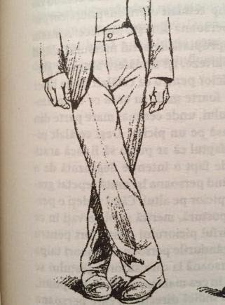 postura foarfecelui