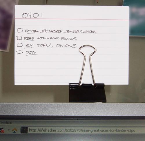 Ideas para Reciclar Pinzas de Oficina