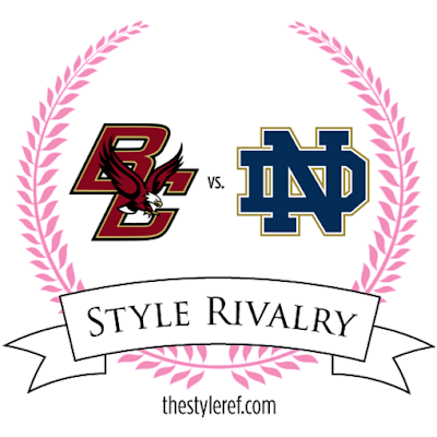 Boston College and Notre Dame rivalry