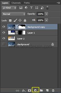 Membuat layer andjusment - photo filter