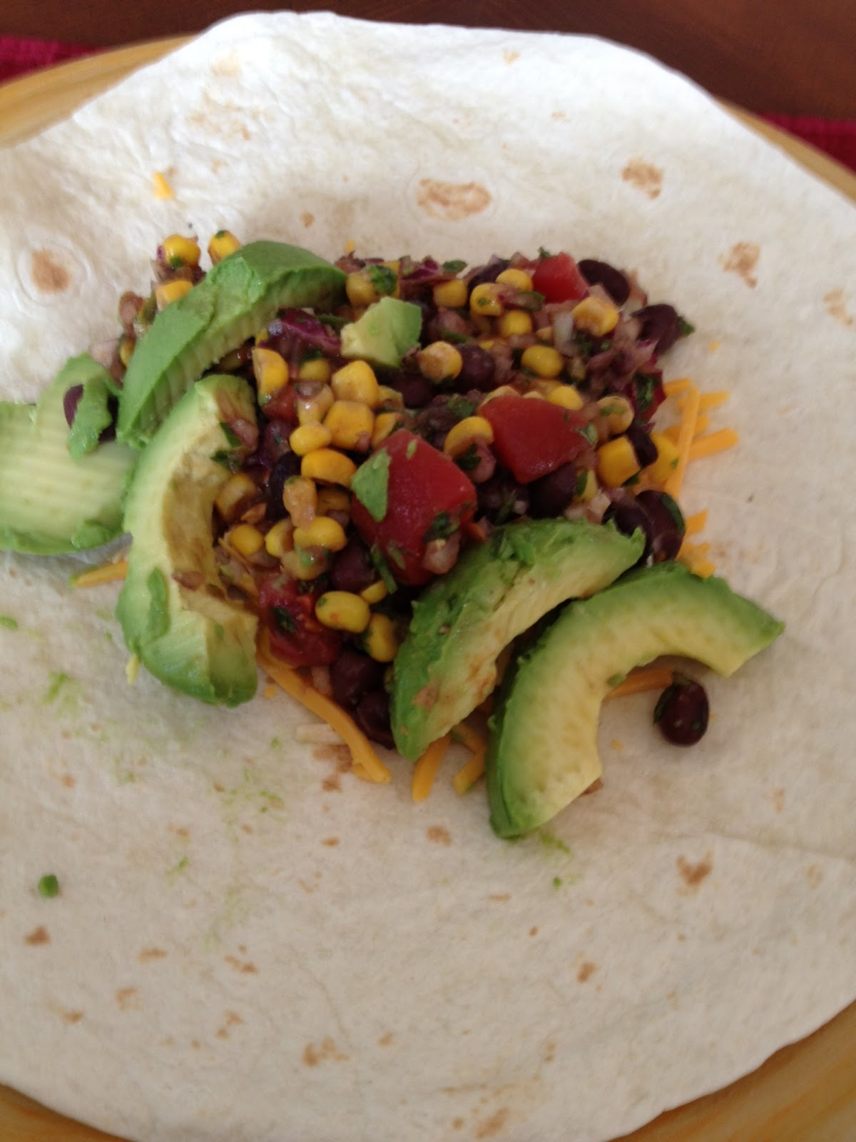 Southwestern Black Bean Wrap - Restaurant Taste...Made In YOUR Kitchen ...