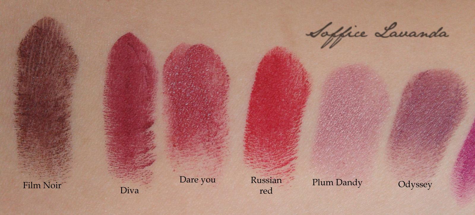 Soffice lavanda my mac lipsticks panoramica e confronti - Rossetto mac diva ...