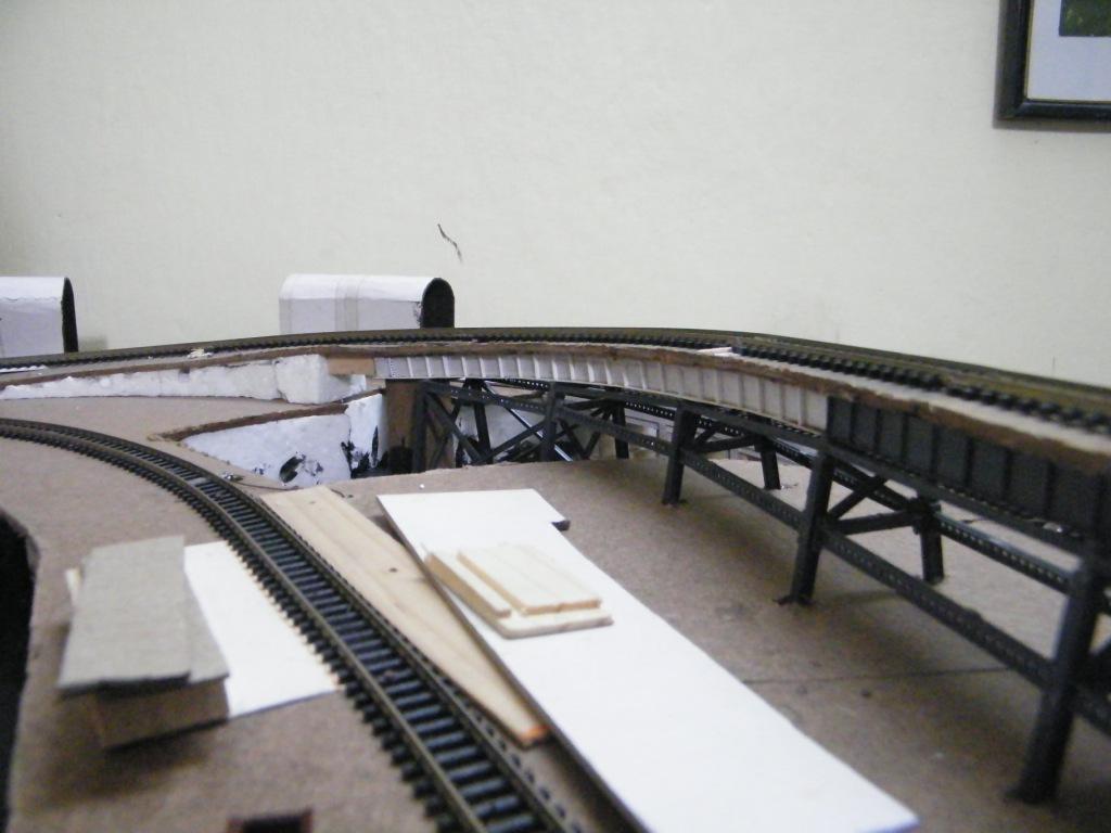 how to make a cardboard bridge