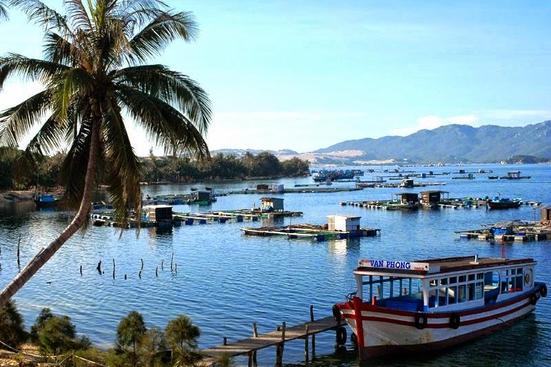 Hình ảnh vịnh Vân Phong ở Nha Trang