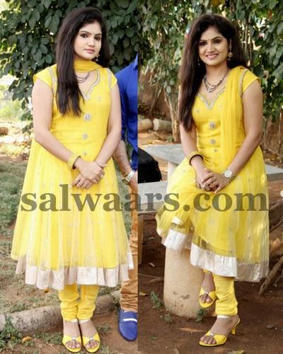 Noorzahan Yellow Designer Salwar