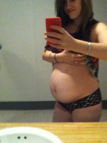 Pregnant white trash slut you uneasy