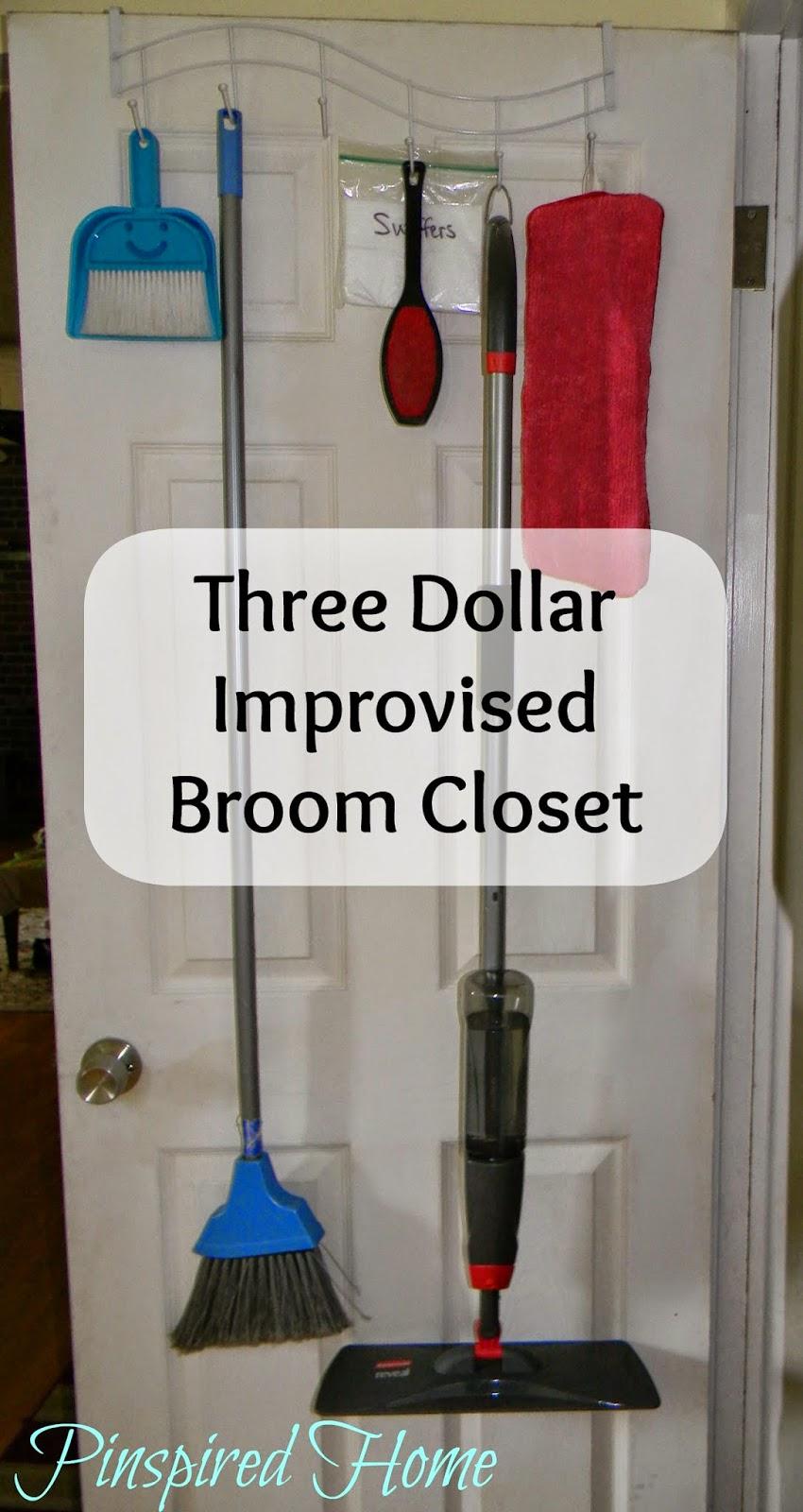 Improvised Broom Closet