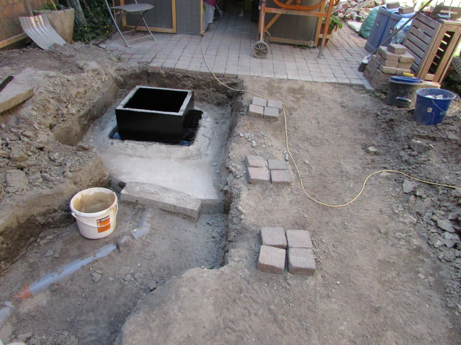 drainage aanleggen rond huis drainage en afvoer van het. Black Bedroom Furniture Sets. Home Design Ideas
