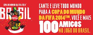 Promoção Coca-Cola - Copa do Mundo 2014