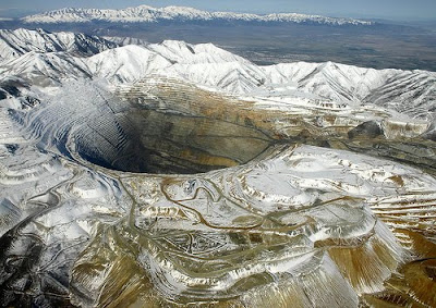 a maior mina do mundo: Kennecott / Bingham Canyon