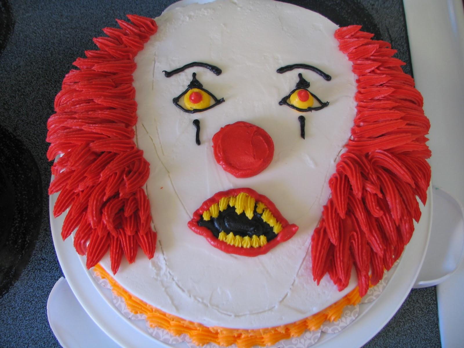How To Make A Killer Clown Cake
