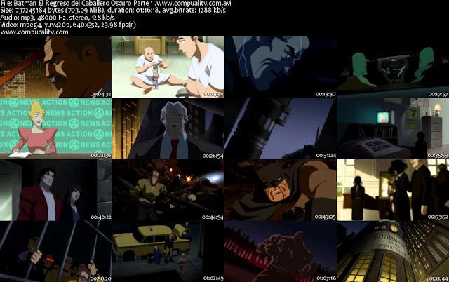 Batman El Regreso del Caballero Oscuro Parte 1 DVDRip Español Latino 2012