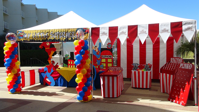 Carnival theme party game ideas for Festival decoration ideas