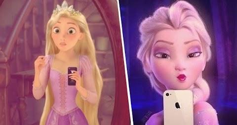 Zona Disney: Estados de Facebook que pondrian las princesas de Disney