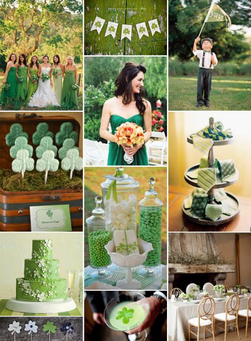 Boda evento moderna verde esmeralda