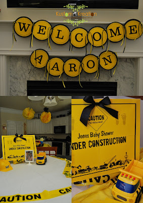 under construction baby shower was such a fun theme to create for my