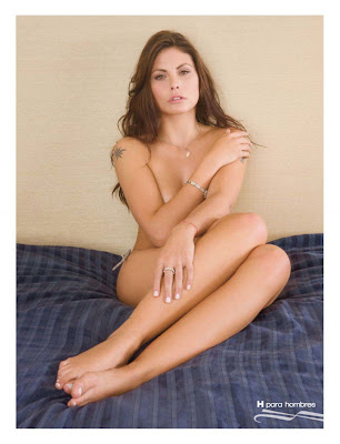 Fotos Amanda Rosa Revista H para Hombres Noviembre 2012