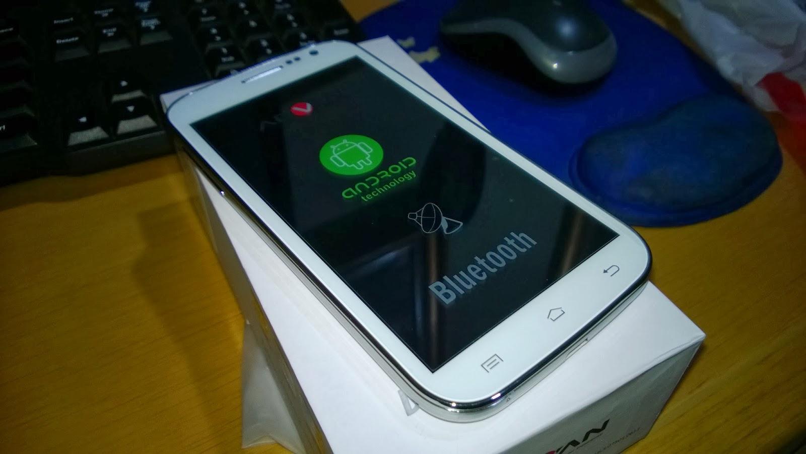 """inilah ponsel Android dari Advan, bernama """"Advan Vandroid S5E""""."""