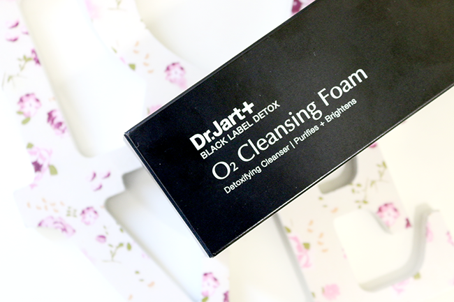 Dr. Jart Black Label Detox O2 Cleansing Foam