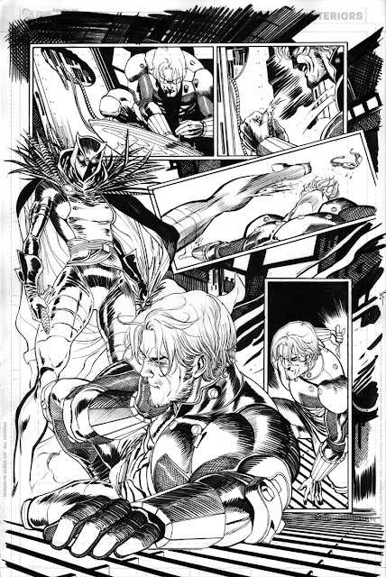 TALON #1 interior pages by Guillem March