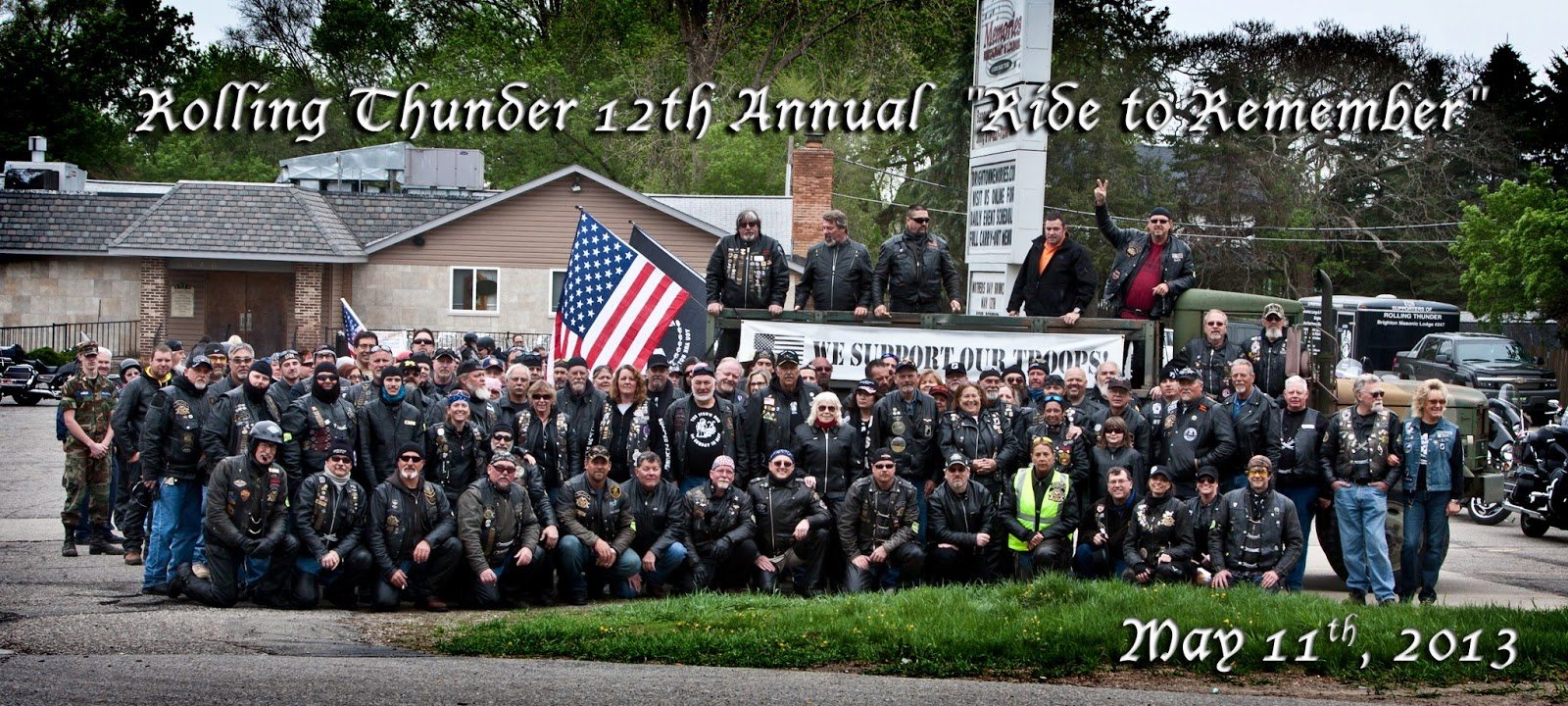 Rolling Thunder's 12th Annual Ride To Remember