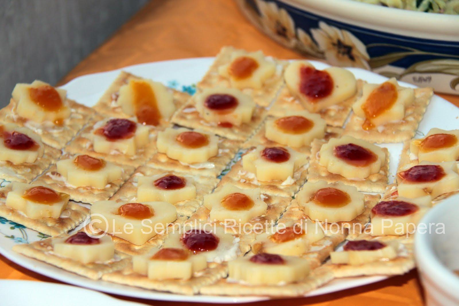 Le semplici ricette di nonna papera stuzzichini per aperitivo for Aperitivo ricette