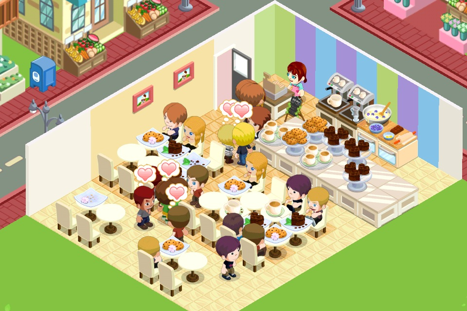 Latest obsession my bakery story for Bakery story decoration ideas