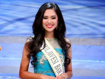 Maria Asteria Pemenang Miss Indonesia 2014