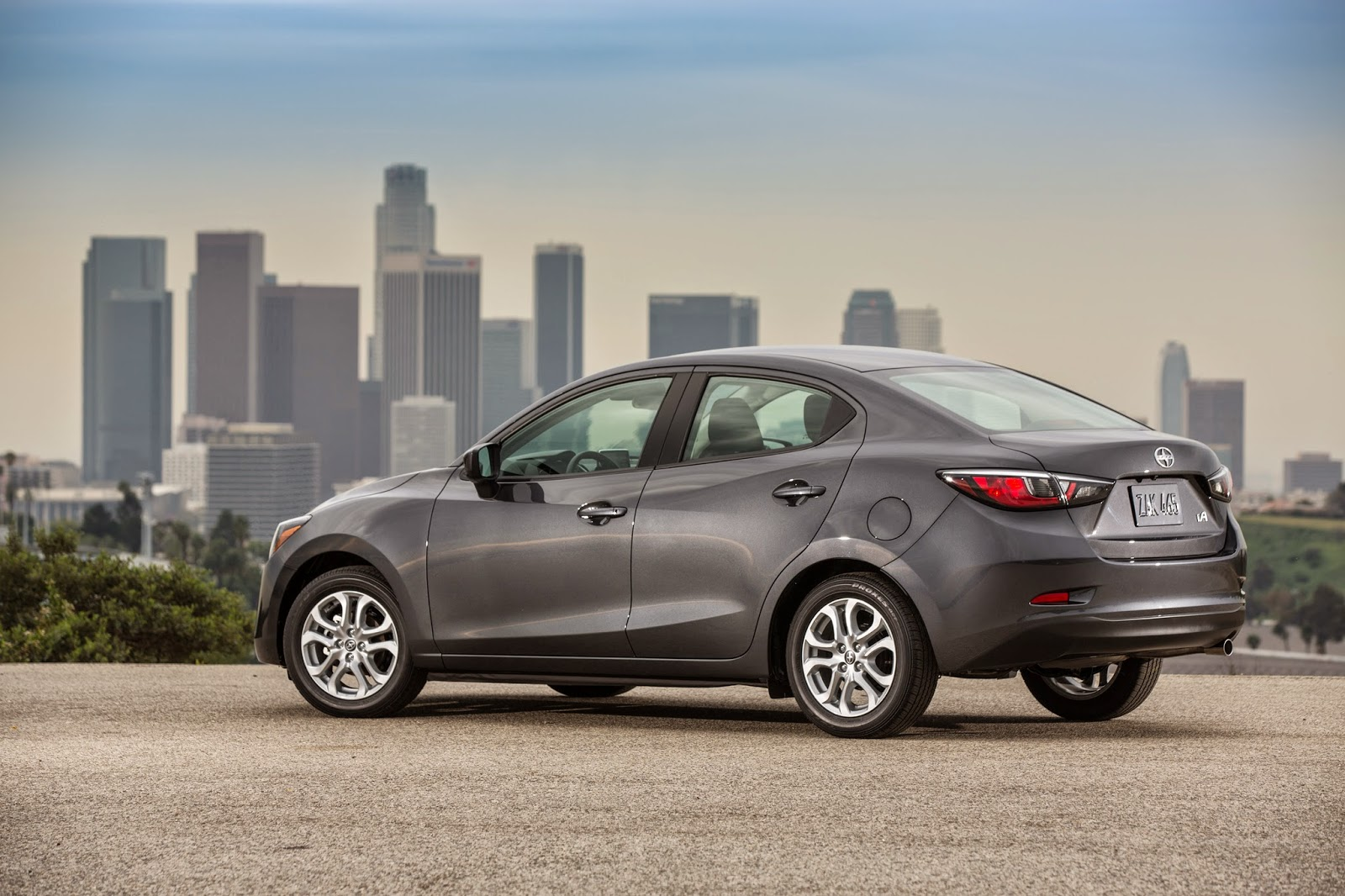 2016 Scion iA rear